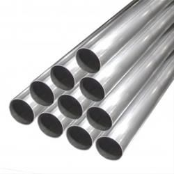 """Stainless Steel Exhaust Tubing 2.5/"""" Straight Pipe"""