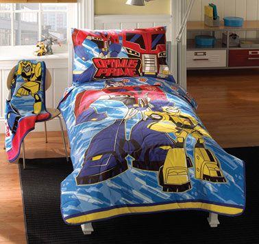 Supstar Transformers Kids Duvet Cover Sets 3 Pieces Full Comforter Cover Set for Boys Bumblebee Decepticons Optimus Prime Bedding Set TB10
