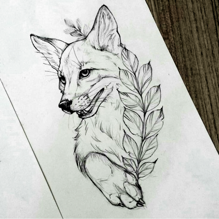 Design Fox Tattoo Fox Fox Tattoo Design Design Tattoo In 2020 Fox Tattoo Design Fox Tattoo Fox Tattoo Sketch