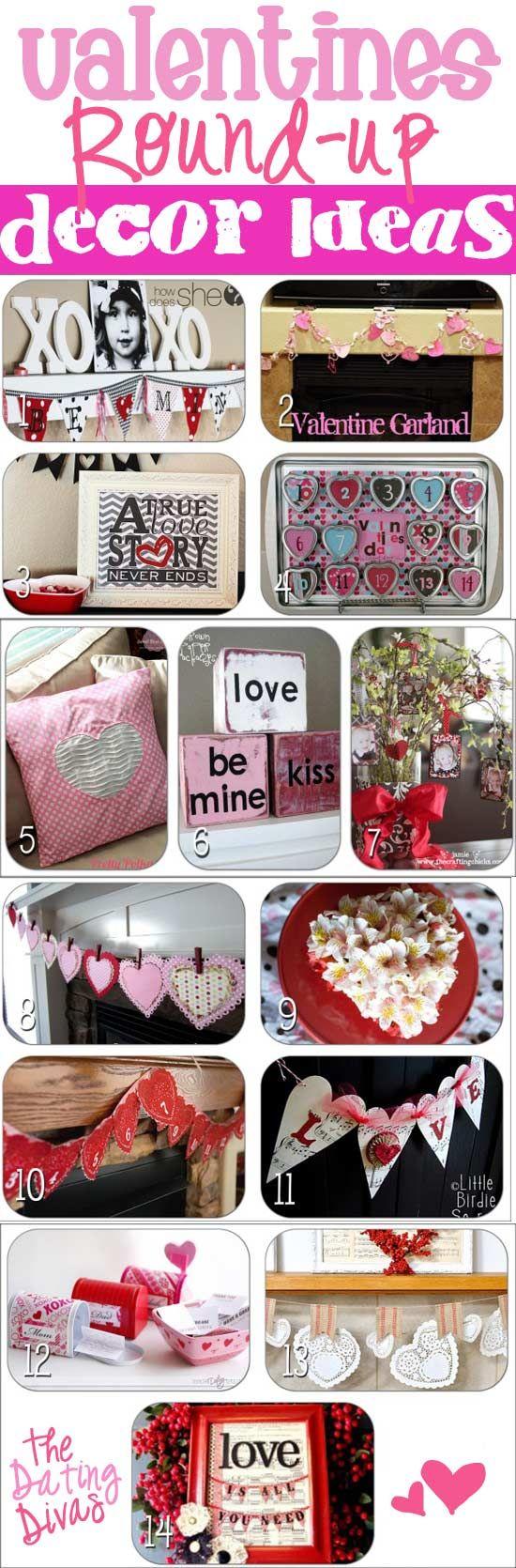 14 Fabulous Decor Ideas for V-day. #vday  #valentines #datingdivas