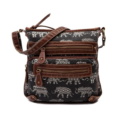 f99d8e4051e Womens Elephant Crossbody Handbag in Black at Shi by Journeys ...