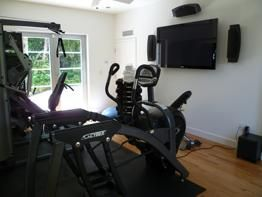 Watch TV while you workout - Goud Construction Corp.