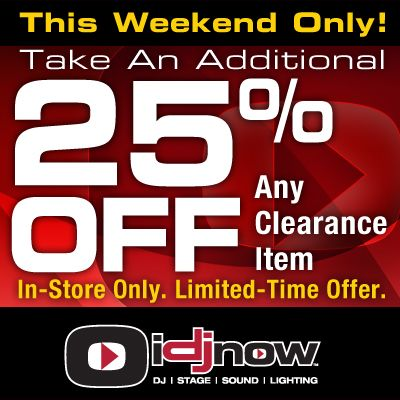 Weekend Clearance Sale! In-Stores Only  Take an Additional