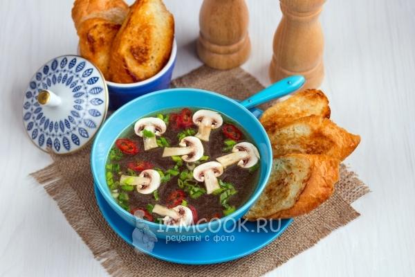 Постный луковый суп — пошаговый рецепт с фото и видео в ...