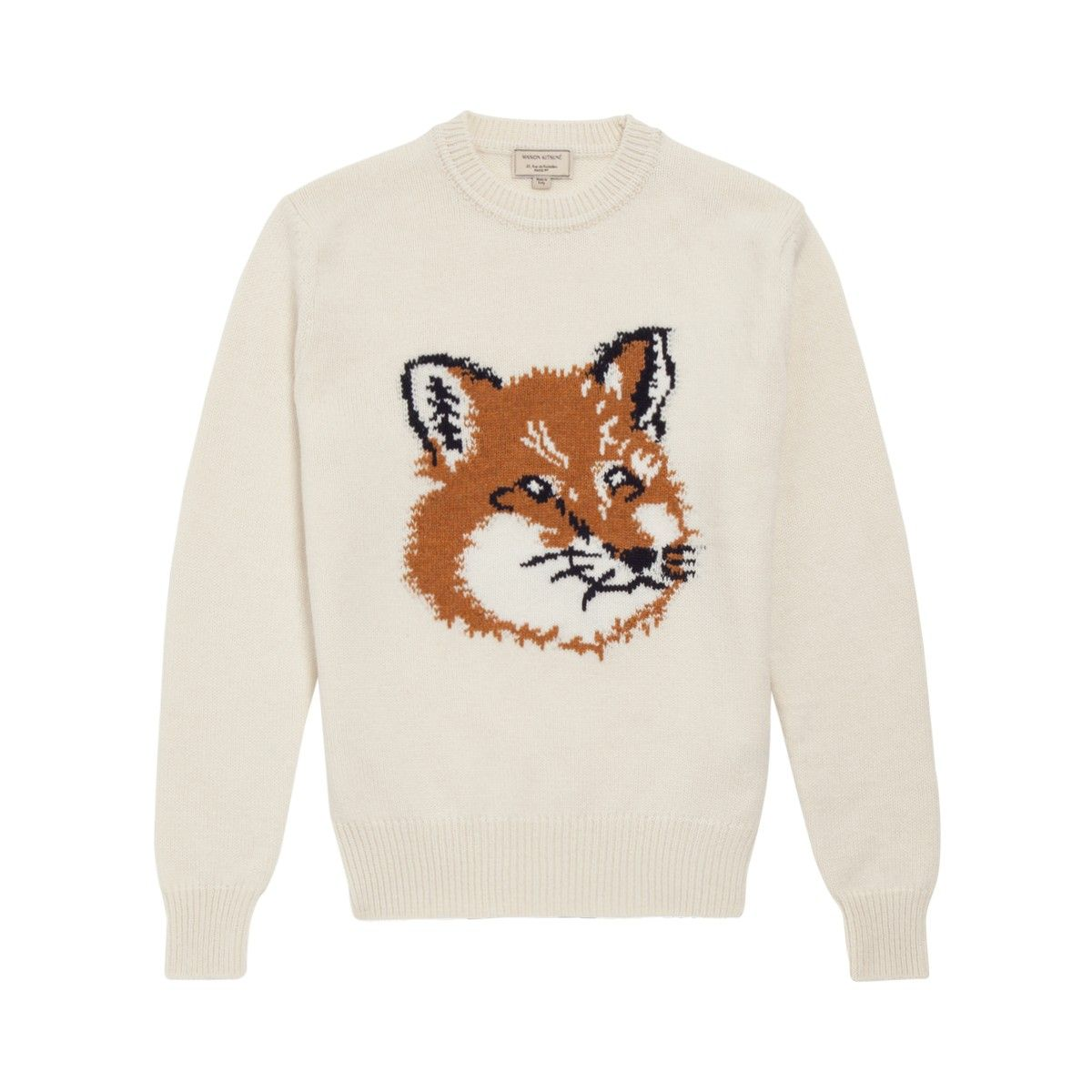 Still a sucker for foxes. 200 Euros on sale is still too pricey, Maison Kitsune.