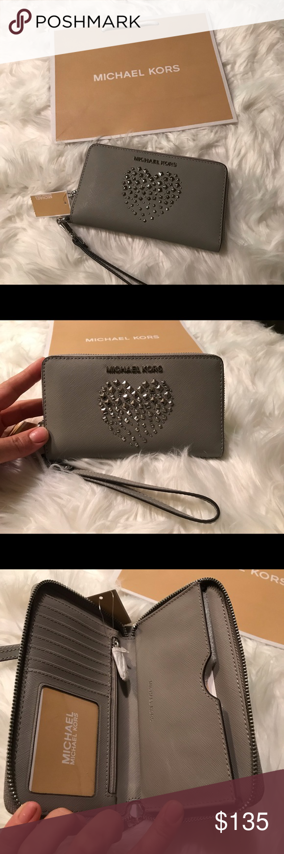 932fd36d09d25c Michael Kors wallet Brand new with tag + mk bag 🥰 Reasonable offer are  welcome 🥰 Michael Kors Bags Wallets