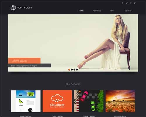 Free And Premium Responsive Adobe Muse Templates 56pixels Mu