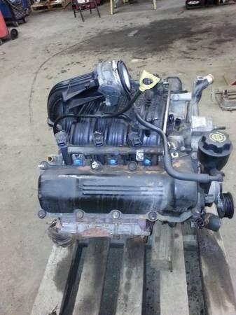 Jeep Liberty 2003 Motor 3 7 L V6 4 4 132k Miles
