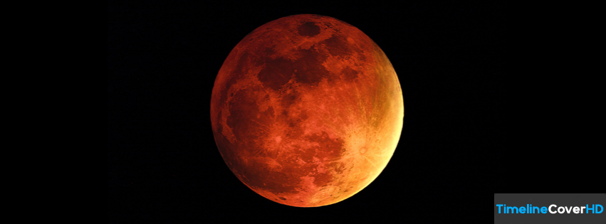 Red Moon Timeline Fb Covers Facebook Cover