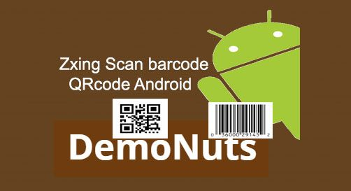 Hello, developers  In scan barcode and QRcode using zxing Android