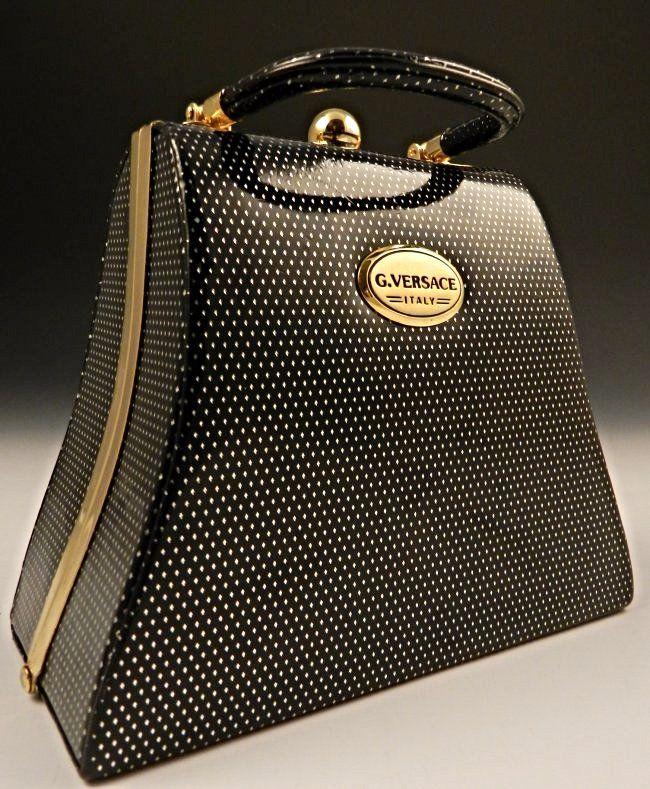 Vintage Gianni Versace Handbag Lot 183 Versace Handbags Gianni Versace Versace Purses