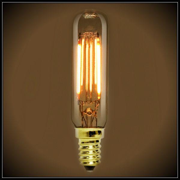 Led Filament Nostalgic Bulb 2 Watt T6 Tubular Vintage Bulb Bulb Filament Bulb