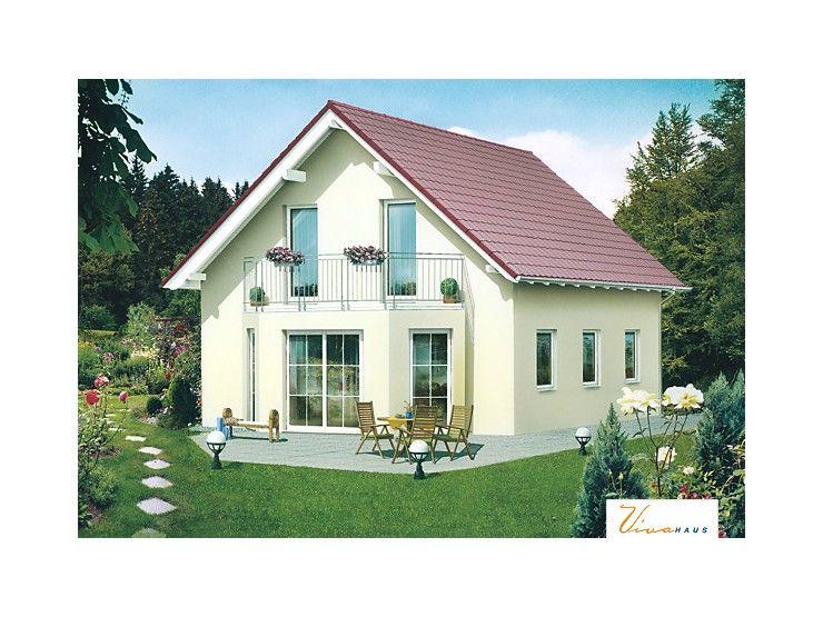 Massivhaus satteldach  Waldenstein - #Einfamilienhaus von VIVA MASSIVHAUS GmbH | HausXXL ...