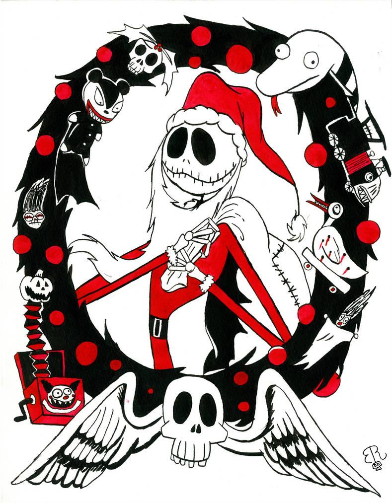 Jack Skellington The Nightmare Before Christmas The Pumpkin King The Wa Jack Skellington Drawing Jack Skellington Santa Nightmare Before Christmas Decorations