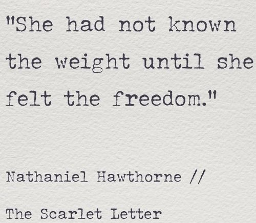 Scarlet Letter Quotes The Scarlet Letter  One Of My Favorite Books And One Of My Favorite