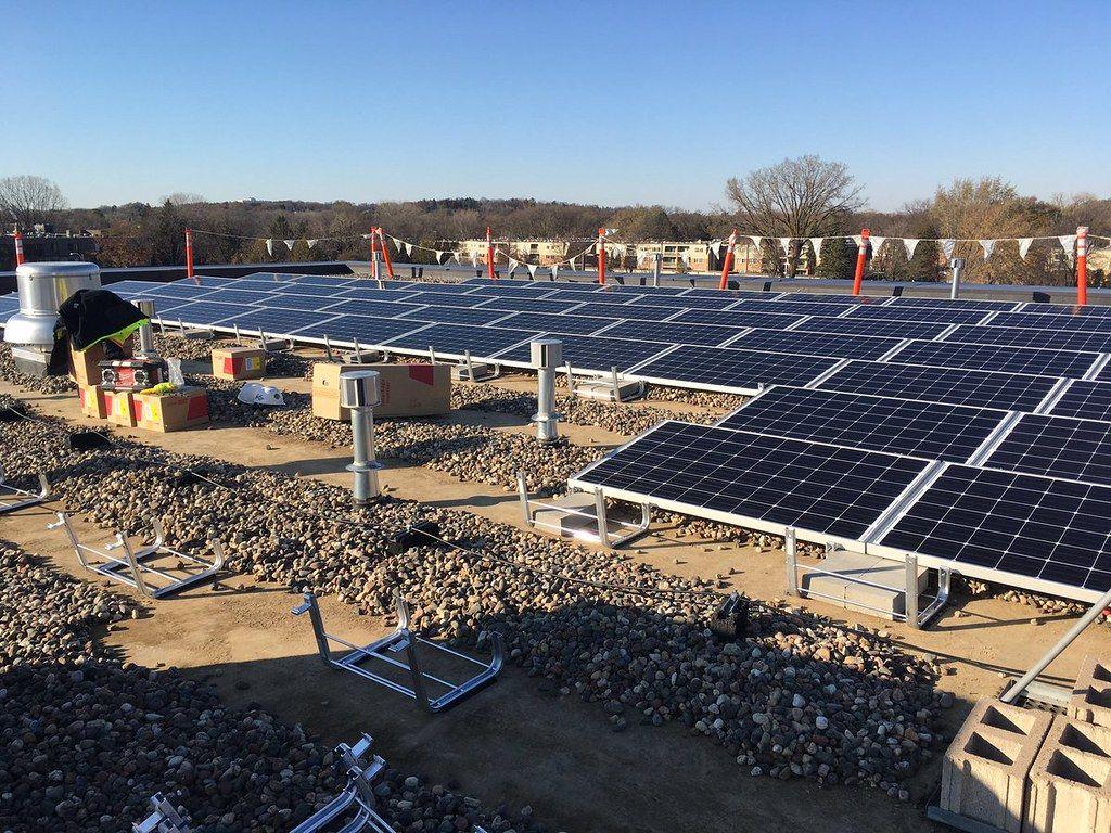 Điên Mặt Trời Hòa Lưới Solar, Solar panels, Outdoor