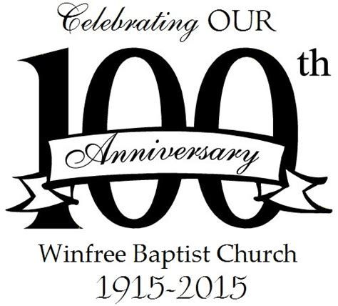 100th Church Anniversary Clipart 3 DDD 100 in 2018 t