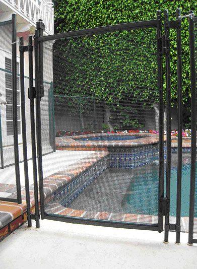 Pool Fence Los Angeles Pool Designs Pool Fence Backyard