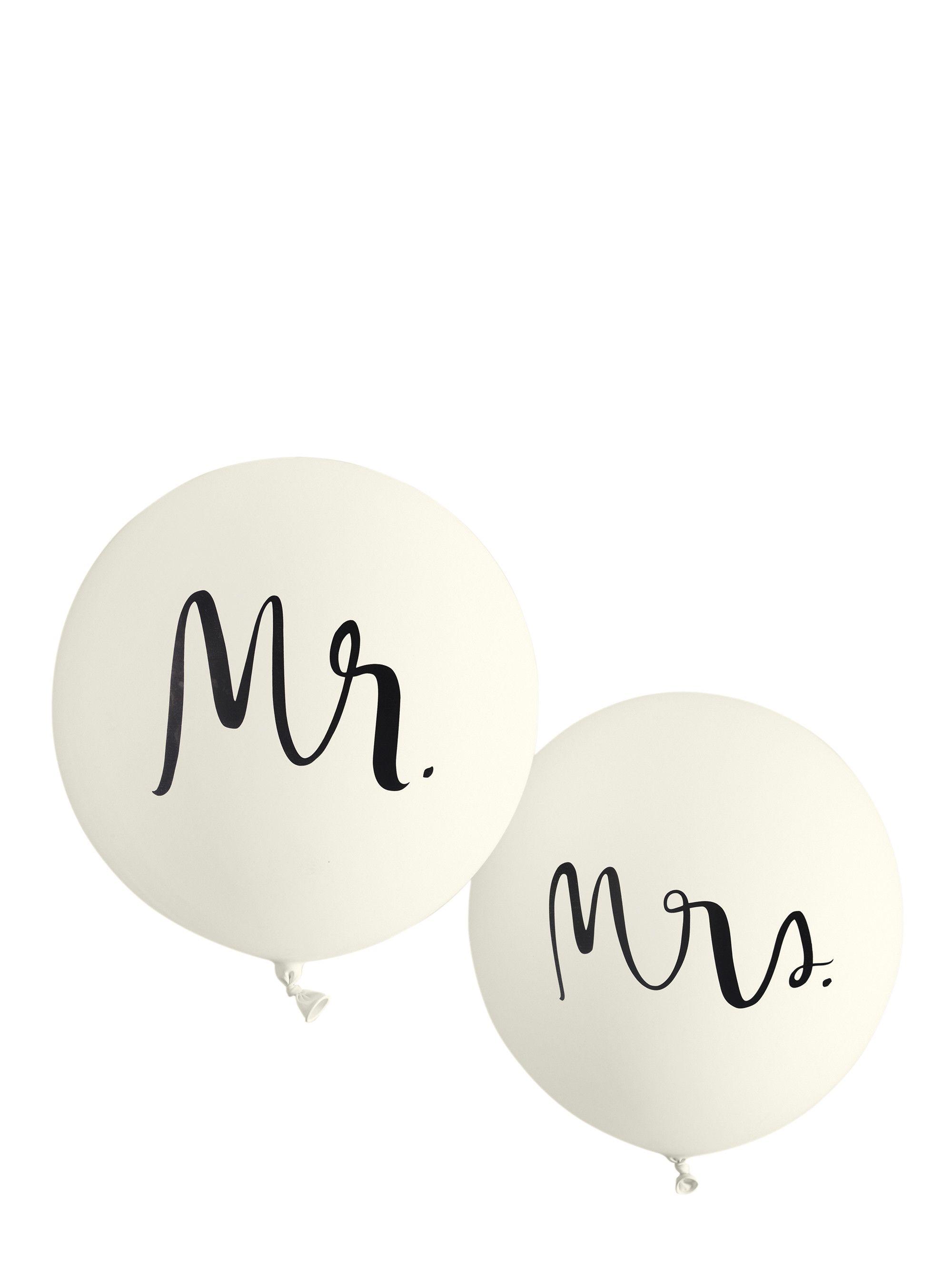 a30cad58242 mr. and mrs. balloon set - kate spade new york | Wedding | Bridal ...