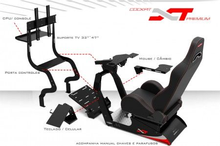 Cockpit Extreme Racing XT Premium | Auto technical hard to