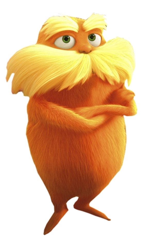 The Lorax In Cgi Png Lorax Png Hd The Lorax Characters The Lorax Cat Art