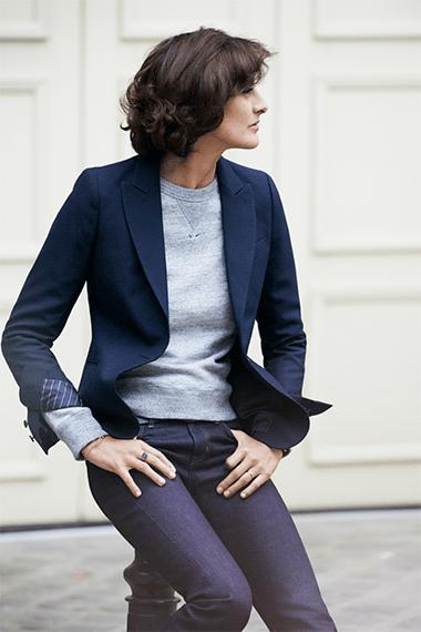 Uniqlo Collaboration With Ines De La Fressange Fall Looks