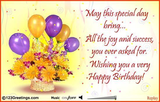 17 b sta bilder om BIRTHDAY GREETINGS p Pinterest – Birthday Card for Colleague
