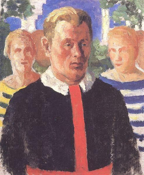 Portrait of a Man, 1933  Kazimir Malevich