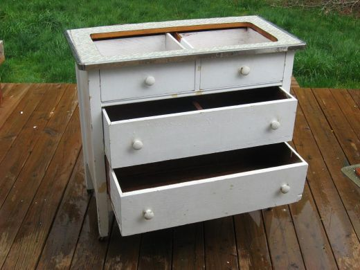how to build a drying box from a dresser