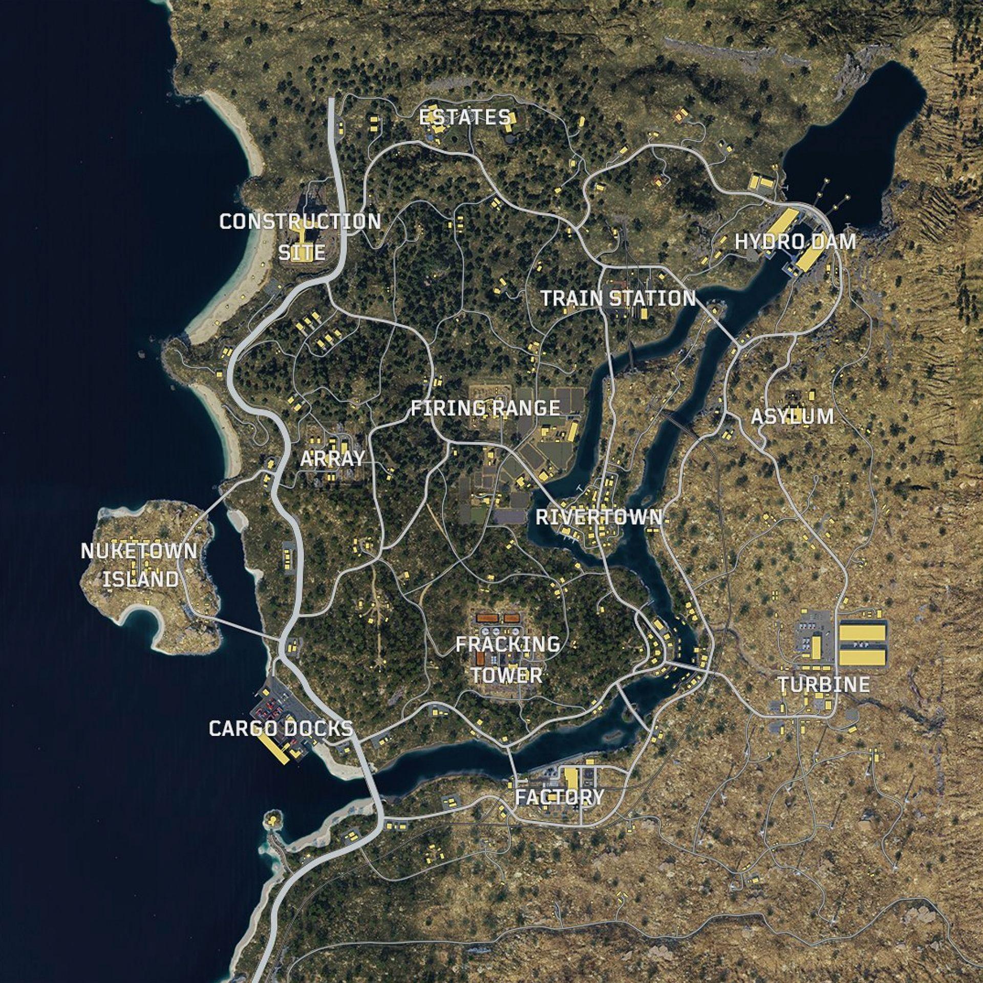 Blackout Map Best Loot Spots Cod Callofduty Blackops4 Blackout Battleroyale Black Ops Black Ops 4 Call Of Duty