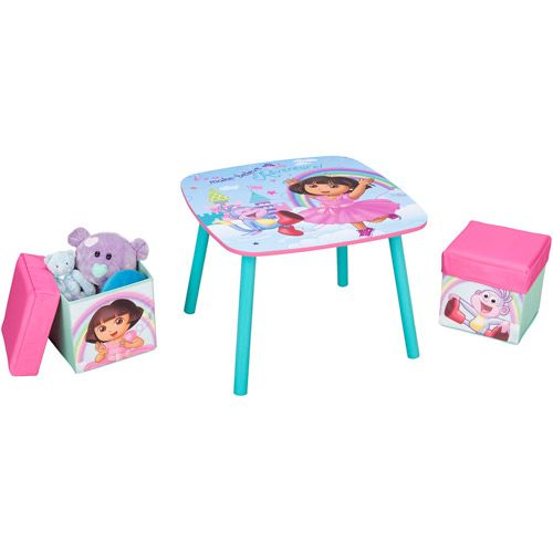 Dora The Explorer Table And Ottoman Set Kaylee S Board