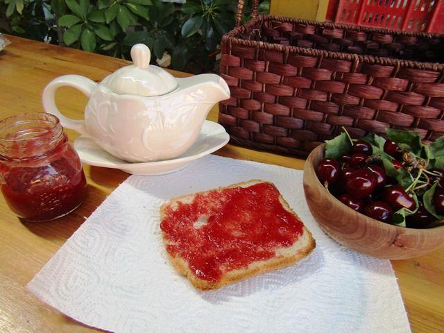 Marmellata di ciliegie - fatta in casa come una volta...