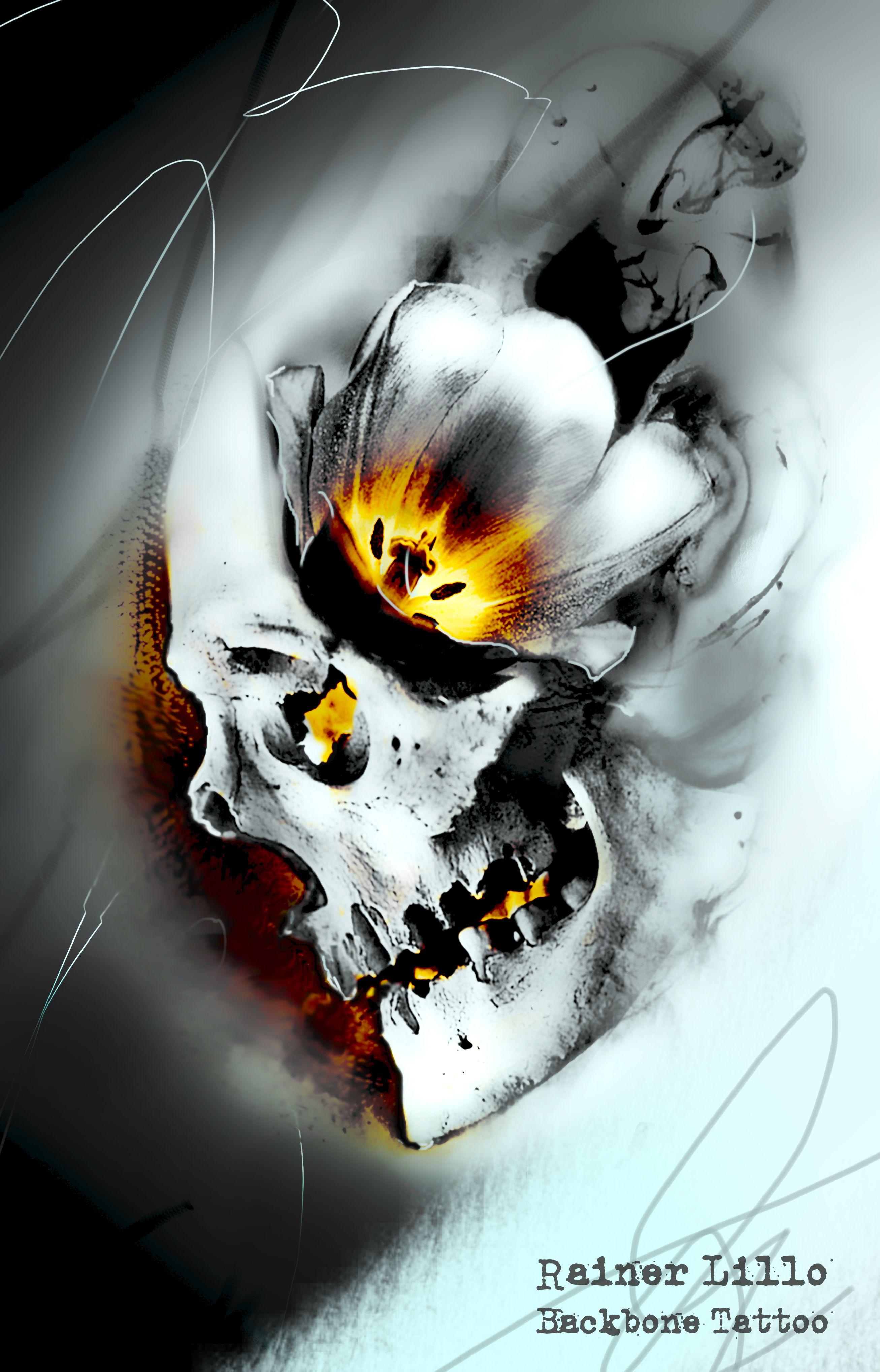 Idea Skull Tattoo Art