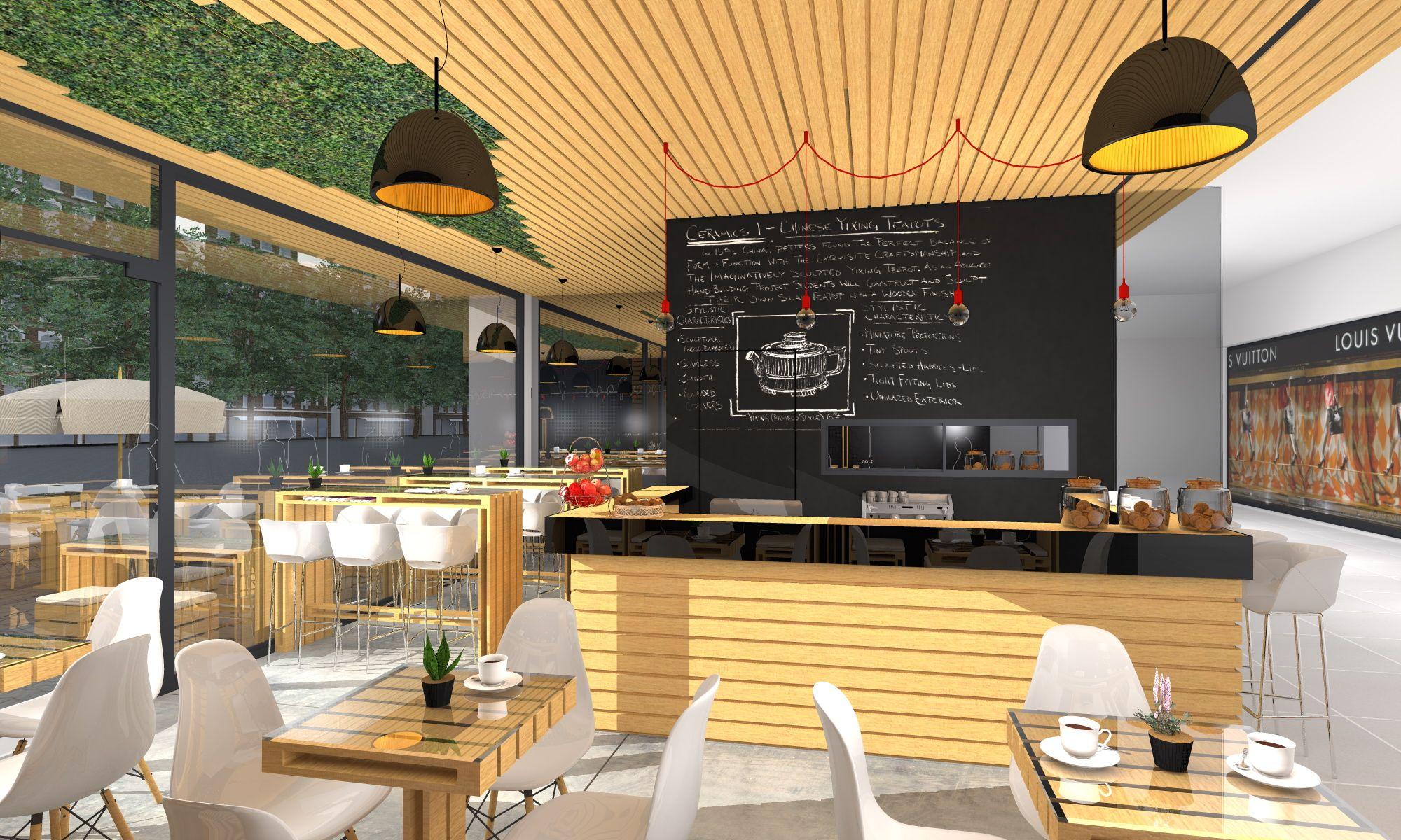 green cafe design magnificent four o nine transforms greenhouse
