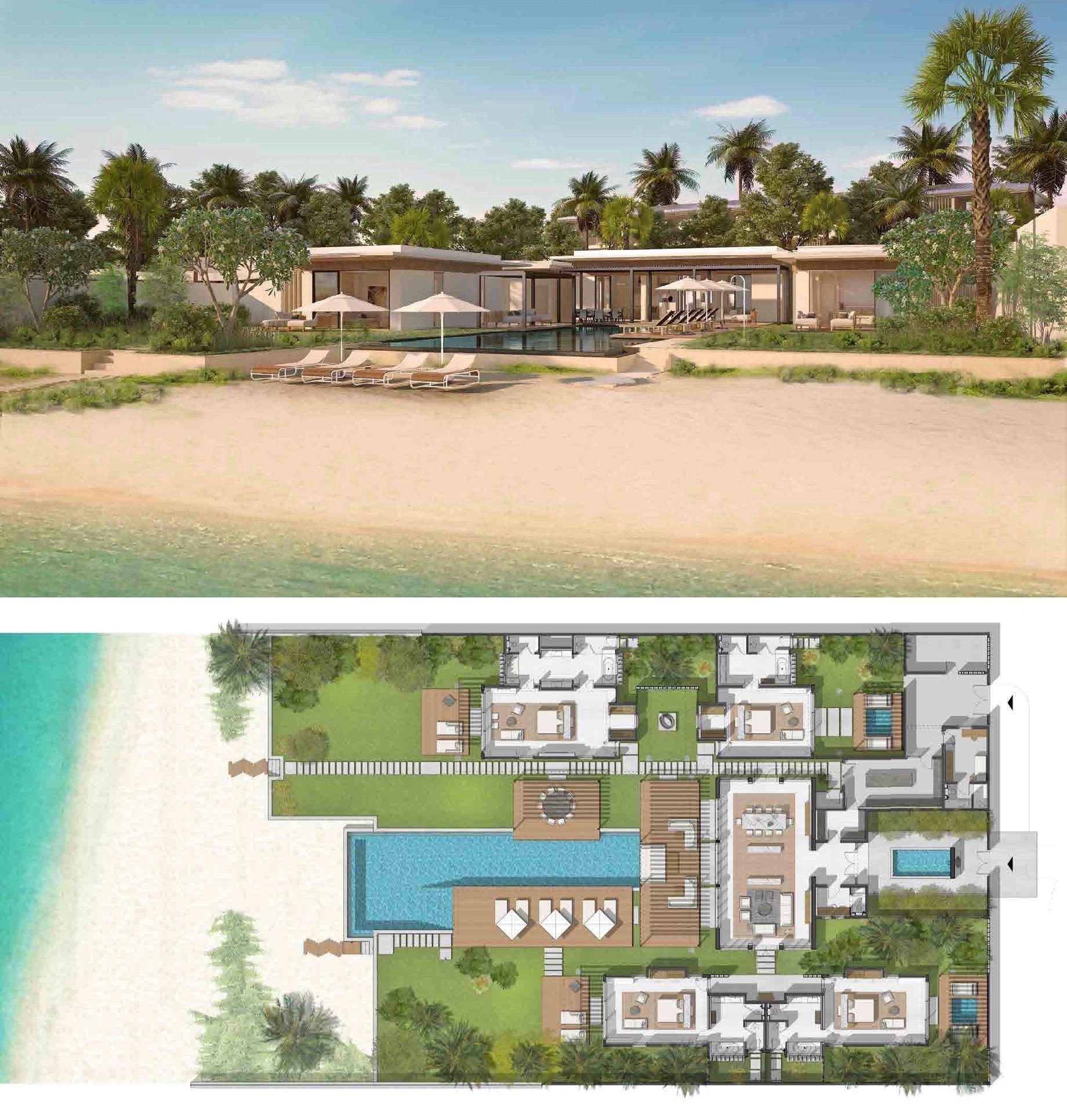 Silversands Luxury Hotel And Private Villas In Grenada Luxury Garden Resort Plan House Plans