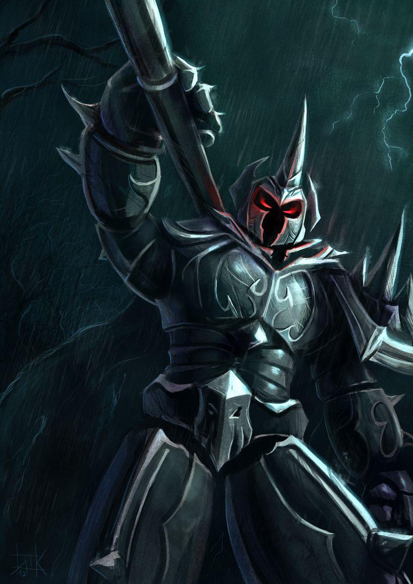 Lol Mordekaiser By Cubehero League Of Legends League Of