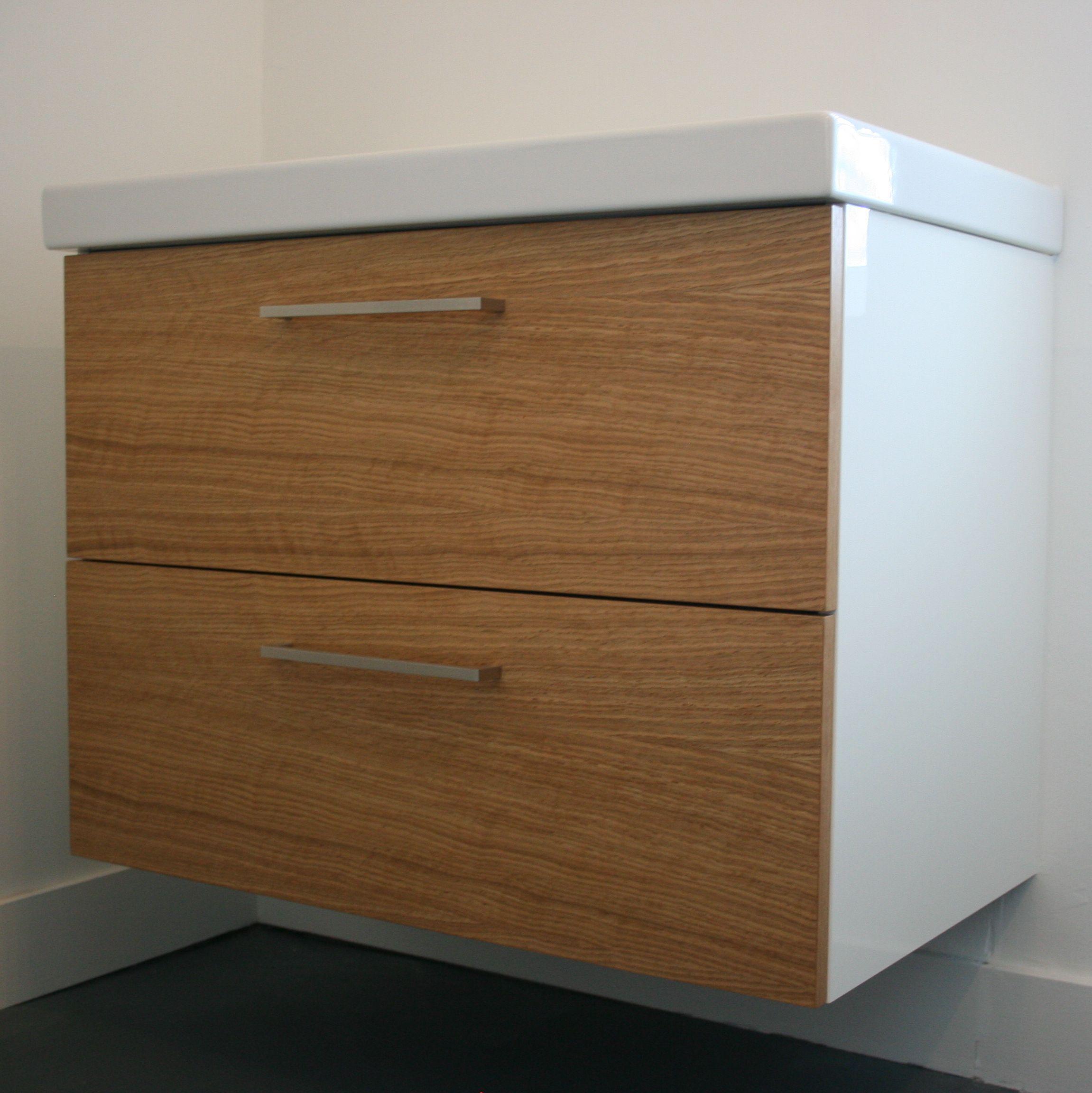 Ikea Kitchen Cabinets 2017: Semihandmade Oak IKEA™ Bathroom In Burbank, CA