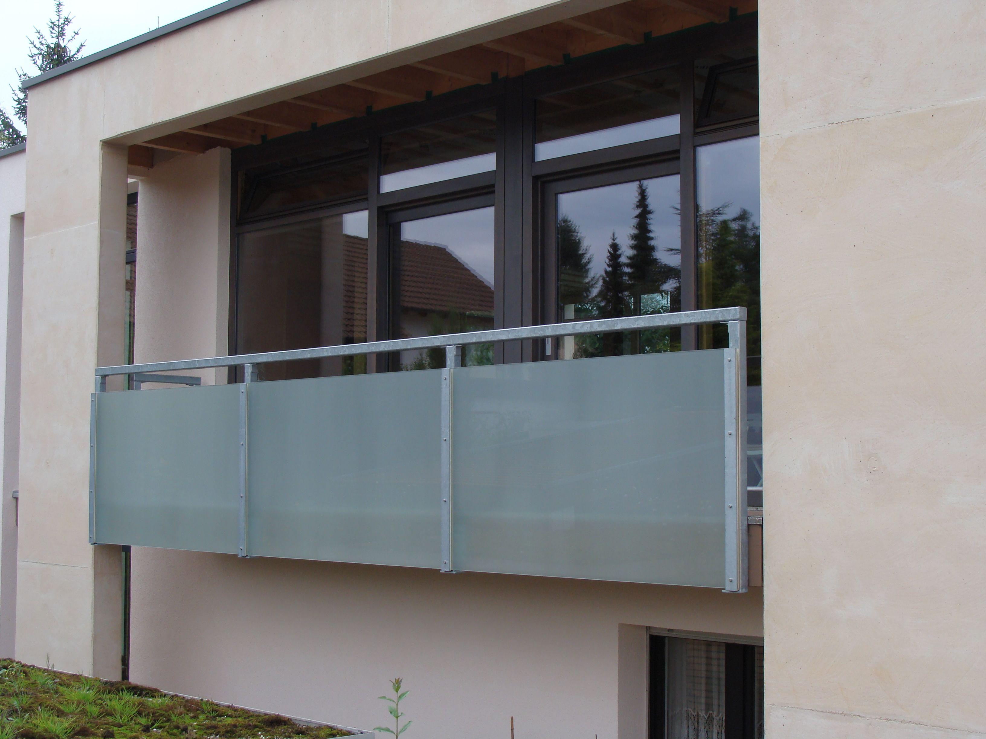 balkon aus stahl mit glasf llung treppen pinterest. Black Bedroom Furniture Sets. Home Design Ideas