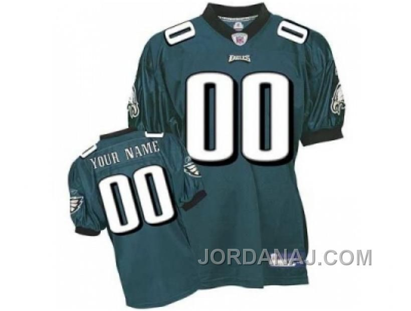 Buy Customized Philadelphia Eagles Jerseys Green Team Color Football from  Reliable Customized Philadelphia Eagles Jerseys Green Team Color Football  ... ca14f0112