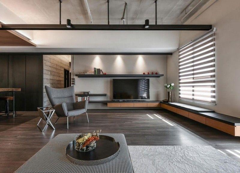 Wohnzimmer in Braun und Beige einrichten \u2013 55 Wohnideen wohnzimmer