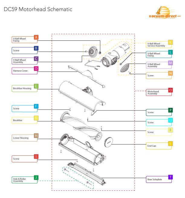 50 Dyson Dc23 Parts Diagram Eb7o