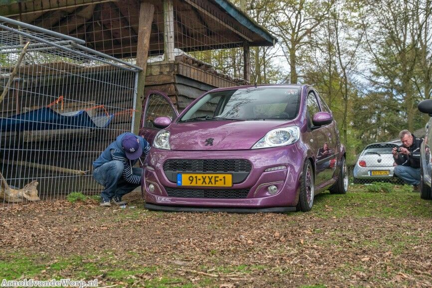 Cool Peugeot 107 with BBS RM wheels   Gadgets :)   Pinterest