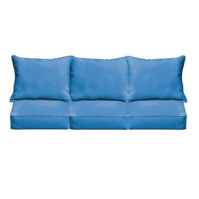 Mozaic Company Selene Outdoor Sofa Cushion Fabric: