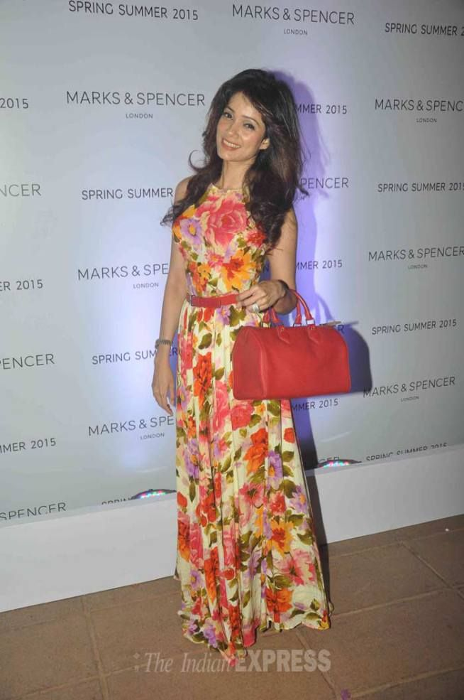 Vidya Malwade at the launch of Marks & Spencer's spring/summer collection. #Bollywood #Fashion #Style #Beauty