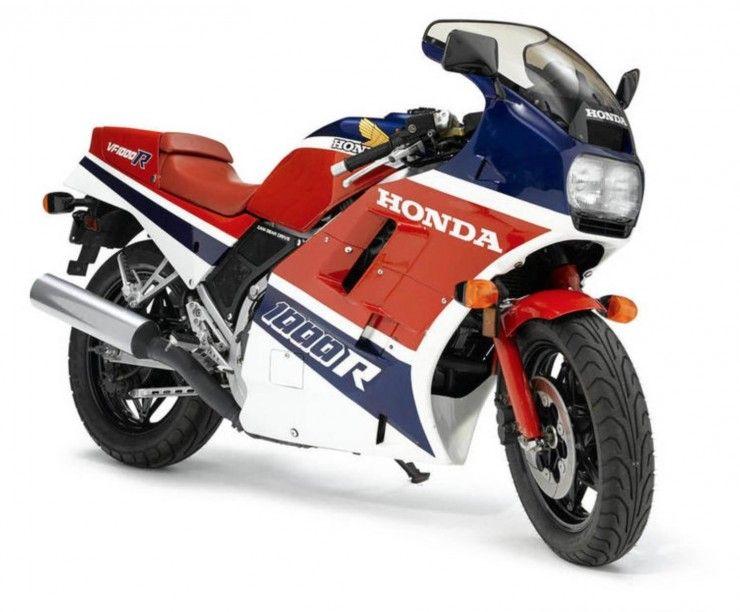 1986 Honda Vf1000r Honda Bikes Honda Honda Vfr