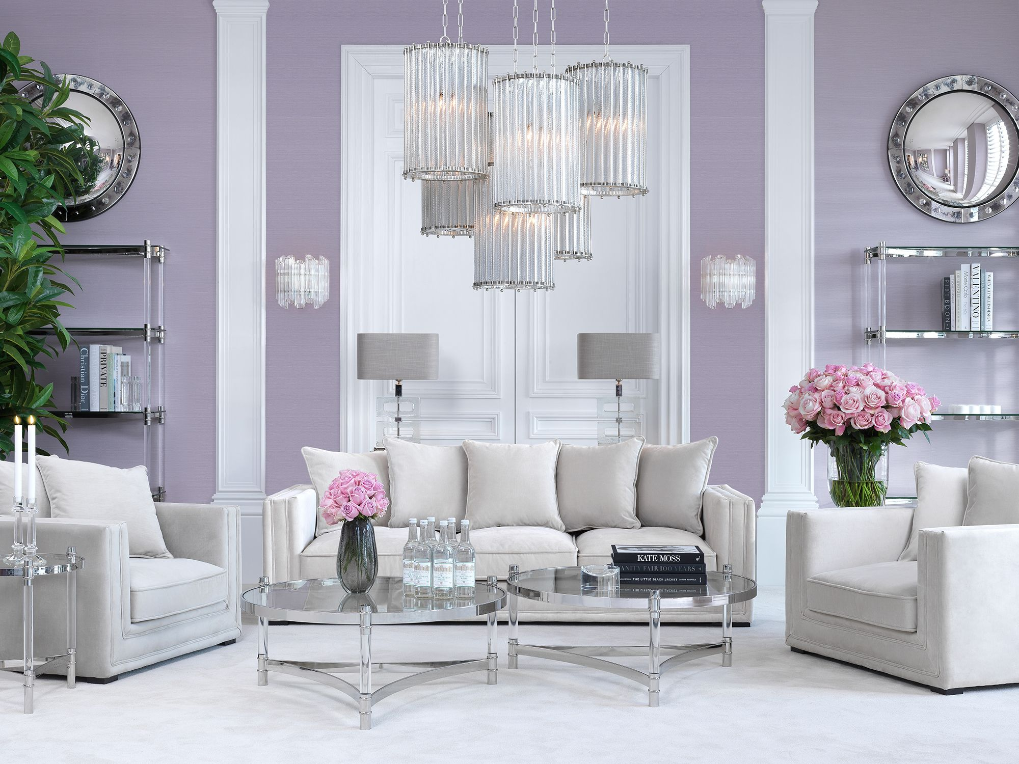 Eichholtz Furniture & Lighting | Home Design | This pastel-infused ...
