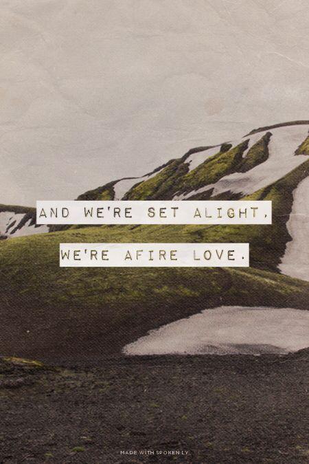 lirik we found love
