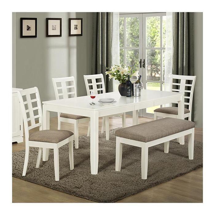 36 X 60 Dining Table In Pearl White Nebraska Furniture Mart Small Dining Room Set White Dining Room Table Dining Room Small