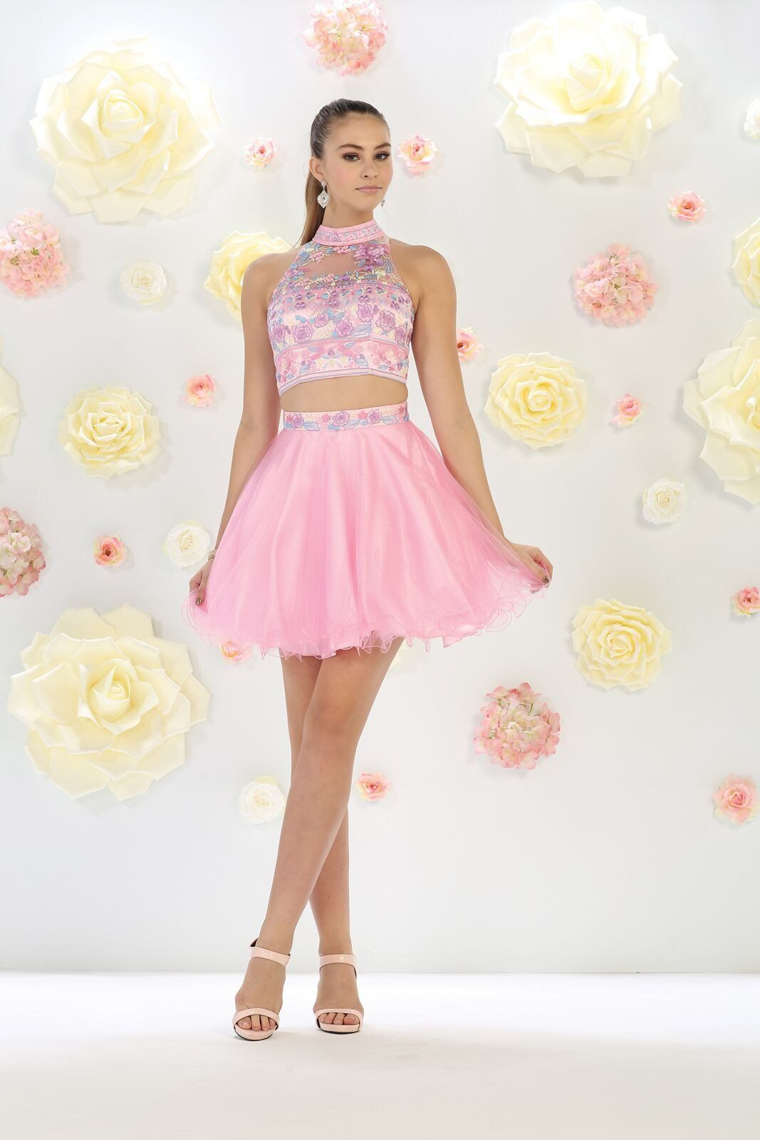 Prom short two piece homecoming dresses homecoming homecoming