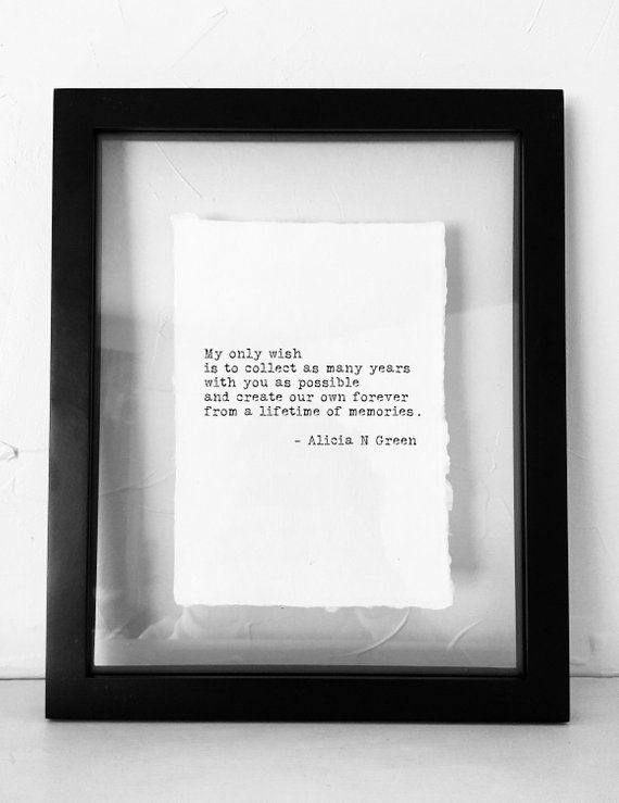 1st Anniversary Gifts for Men 1 Year Anniversary Gift for Him Long Distance Boyfriend Gift Soulmate Gifts Love Poem Print Alicia N Green